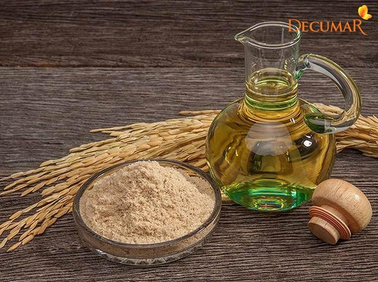 Mặt nạ dầu dừa và cám gạo