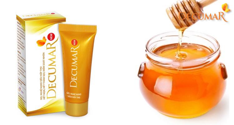 Mặt nạ mật ong và Decumar