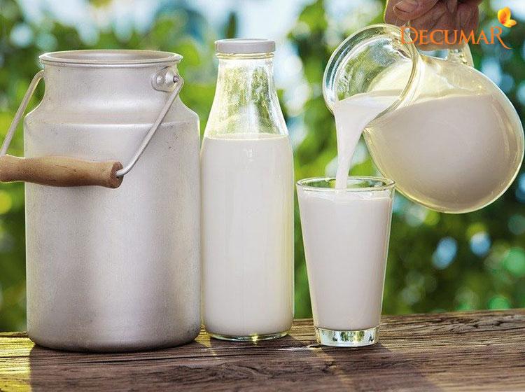 Hoàn toàn có thể sử dụng sữa tươi trị thâm mụn được