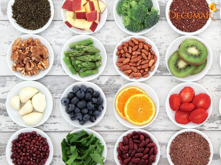 Nhóm thực phẩm chống oxy hóa