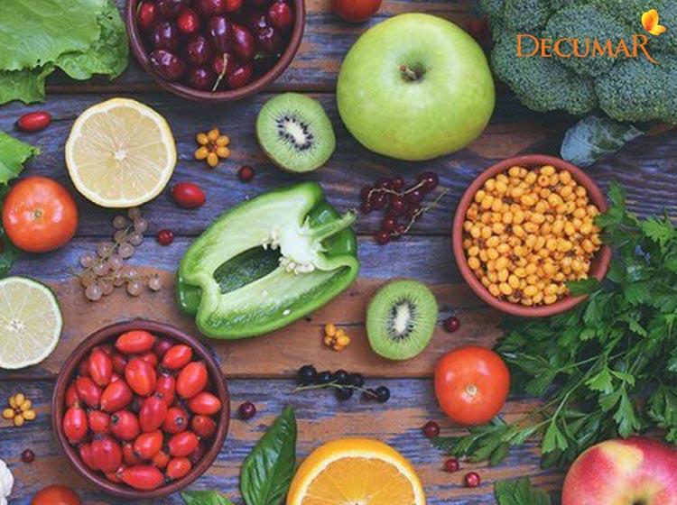 Thực phẩm giàu Vitamin tốt cho da