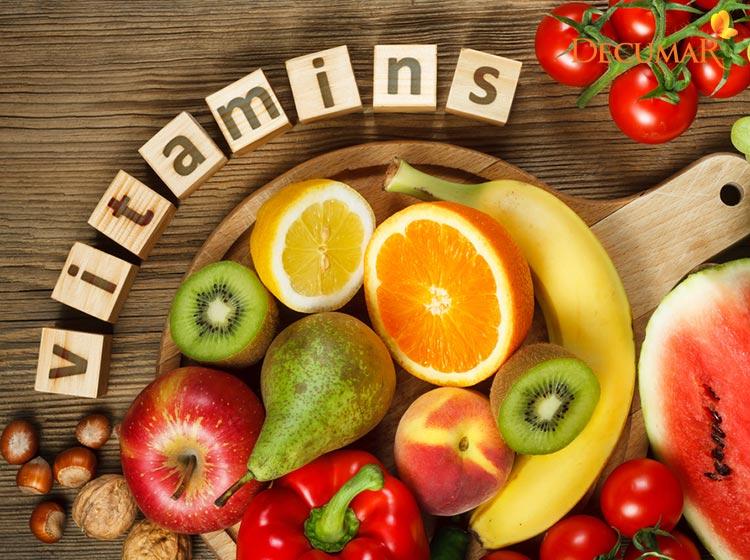 Thực phẩm giàu Vitamin giúp da luôn khỏe mạnh và hết mụn nước trên da