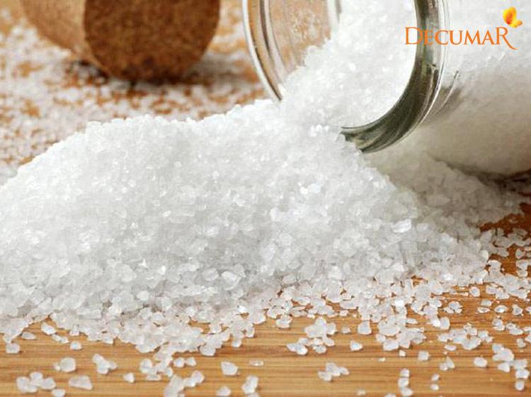 Muối tinh kháng khuẩn, làm sạch và trị mụn hiệu quả