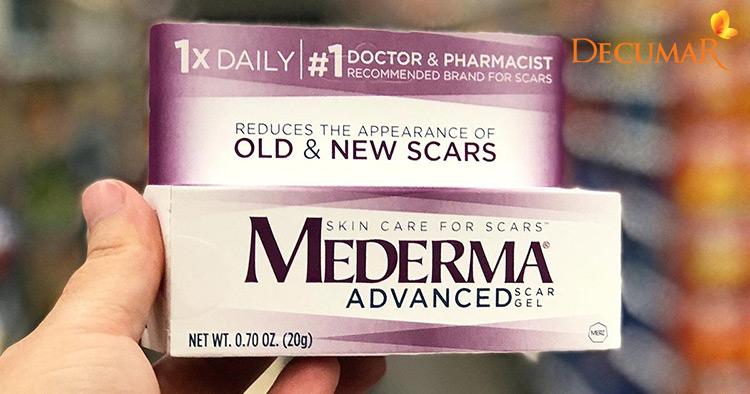 Thuốc trị thâm sẹo rỗ Mederma