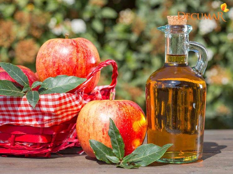 Giấm táo - Nguyên liệu trị mụn thâm hiệu quả