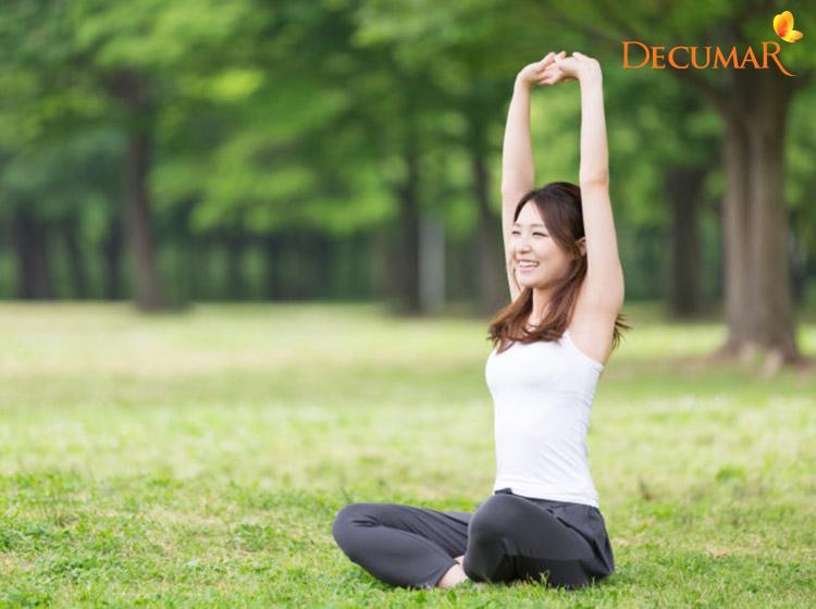 Có một lối sống lành mạnh vừa tốt cho sức khỏe lại còn tốt cho da của bạn