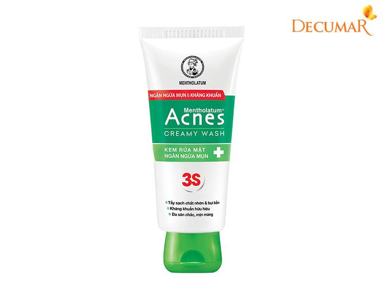 Sữa rửa mặt giá rẻ Acnes Creamy Wash