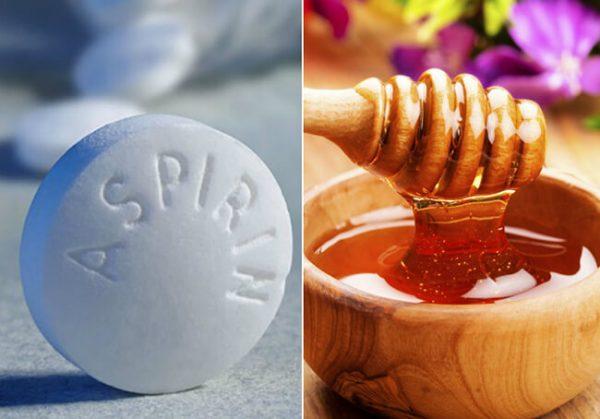 Aspirin và mật ong