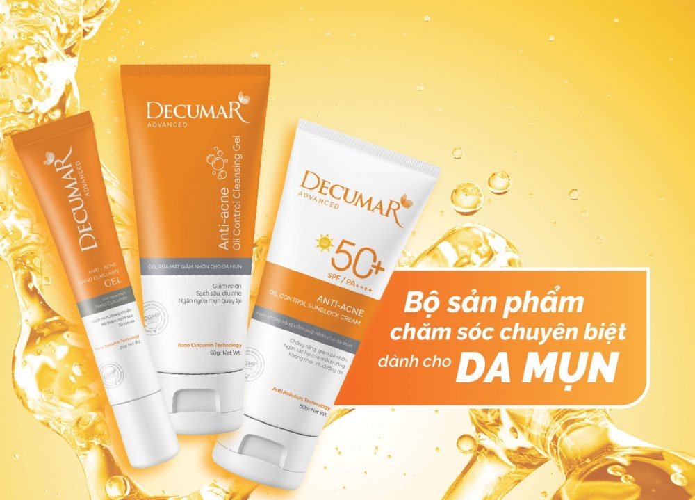 Bộ ba Decumar Advanced