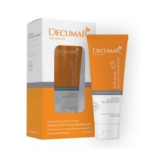 Gel rửa mặt giảm nhờn Decumar Advanced 100g