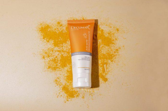 gel rửa mặt giảm nhờn Decumar Advanced