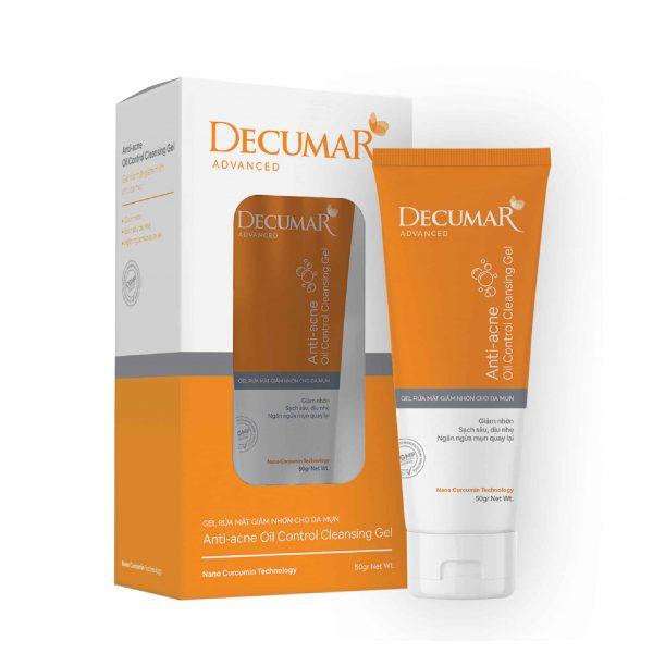 gel rửa mặt Decumar Advanced