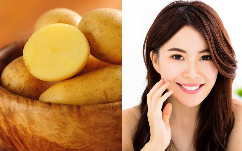 Lưu ý khi trị mụn bằng khoai tây