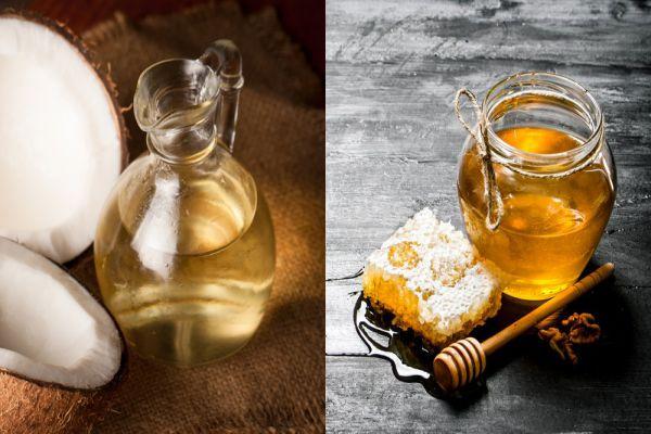 Mật ong và dầu dừa