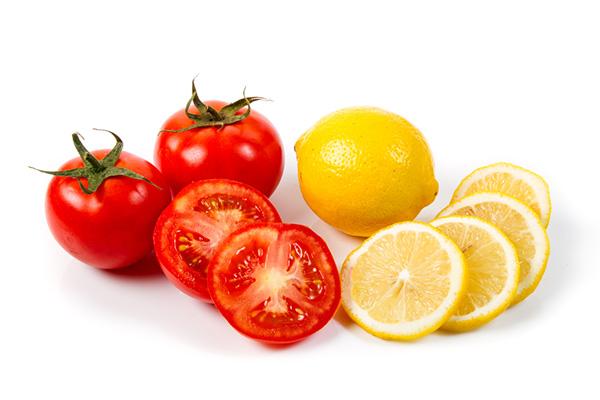 Cà chua và chanh