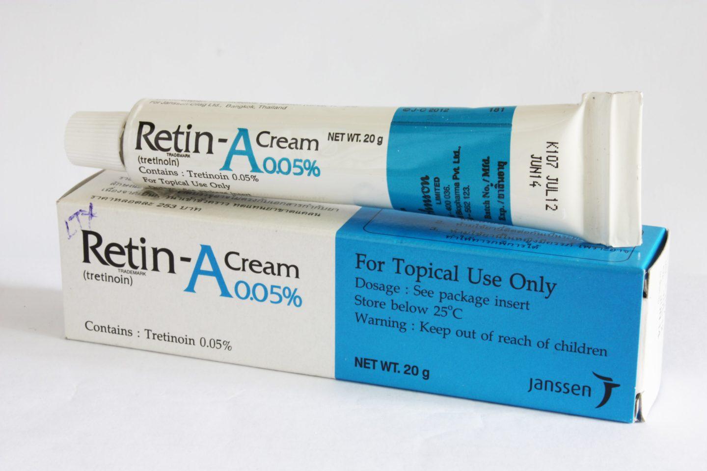 Thuốc bôi trị mụn trứng cá retinoids